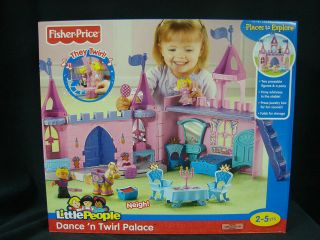 Fisher Price Little People Princess Castle in Little People (1997 Now