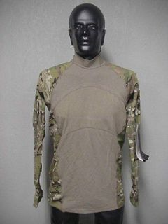 MULTICAM ARMY COMBAT SHIRT ACS MASSIF, SMALL, NEW, FLAME RESISTANT