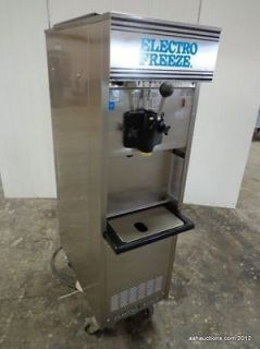ELECTRO FREEZE SINGLE FLAVOR SOFT SERVE ICE CREAM MACHINE