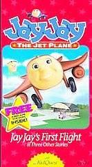Jay Jay the Jet Plane   Jay Jays First Flight VHS, 1995