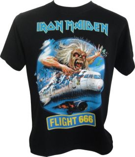 Iron Maiden Flight 666 T Shirt RRP £19.99