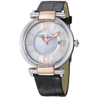 Chopard Womens 388532 6001_LBK Imperiale Black Leather Strap Watch