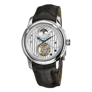 Frederique Constant Mens FC 935CDG4H6 Heart Beat Moonphase Silver