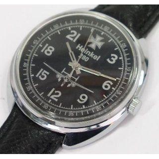Mechanical watch 24 hr (#0407) German WWII Heinkel 280