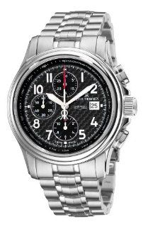 Revue Thommen Mens 16041.6137 Airspeed Carbon Chronograph Automatic