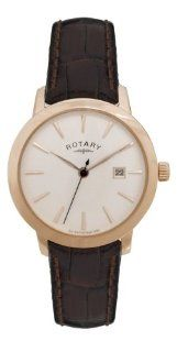 Rotary LS02489 06 Ladies Kensington Rose Gold Plated Watch Watches