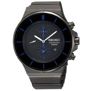 Seiko Chronograph Black Dial Mens Watch SNDD59 Watches