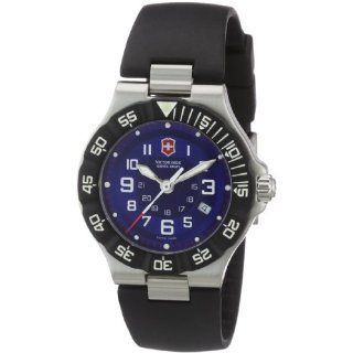 Victorinox Swiss Army Womens 241414 Officers Blue Dial Watch Watches