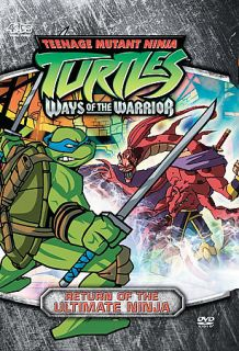 Teenage Mutant Ninja Turtles   Season 3   Vol. 3 Return of the Ultimate Ninja DVD, 2005, Edited