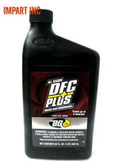 BG 23032 DFC+ Diesel Fuel System Conditioner 1 Quart From the Makers