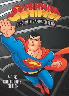 Superman The Complete Animated Series DVD, 2009, 8 Disc Set