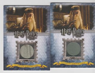 Prince Costume Card MICHAEL GAMBON as ALBUS DUMBLEDORE 343/500 C7