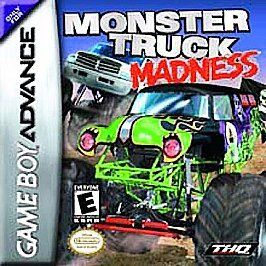 MONSTER TRUCK MADNESS   GAME BOY ADVANCE GBA SP DS
