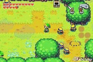 Legend of Zelda The Minish Cap Nintendo Game Boy Advance, 2005