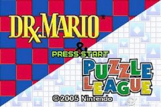 Dr. Mario Puzzle League Nintendo Game Boy Advance, 2005