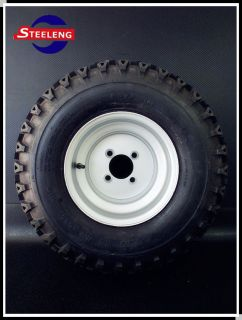 GOLF CART 10 STEEL WHEELS AND 22 TWISTER TIRES (SET OF 4)