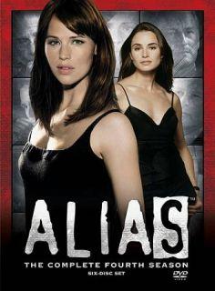 Alias   The Complete Fourth Season DVD, 2009, 6 Disc Set