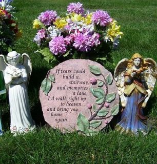 Tears Could Build a Stairway Stepping Stone Garden Decor Wall Plaque