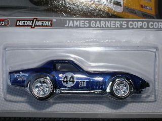 HOT WHEELS ROAD RACER JAMES GARNERS COPO CORVETTE RR MOC VHTF