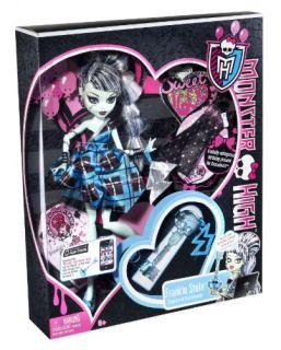 Mattel W9190   Monster High, Frankie Stein Frankensteins Tochter