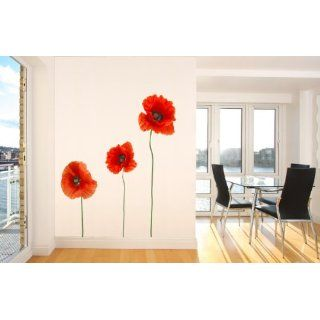 Wallsticker poppy No. 204 Wall Art Sticker decoration Deko Wall Tattoo