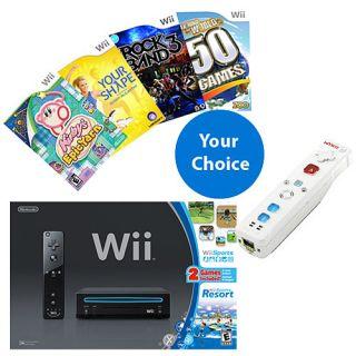 Nintendo Wii Ultimate Bundle  Consoles
