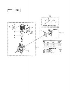 Weed Wacker Parts together with 5 likewise Craftsman 32cc Fuel Line Diagram furthermore P 07171137000P moreover 130425369588. on craftsman weed trimmer parts