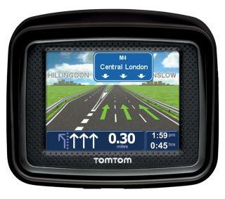 TOMTOM Urban Rider Regional GPS Sat Nav System   Black  Pixmania UK