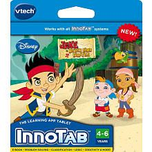 Vtech InnoTab Learning Game Cartridge   Jake and the Never Land