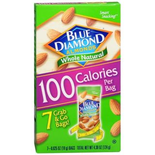 Walgreens   Blue Diamond Whole Natural Almonds 100 Calorie Pack .62oz