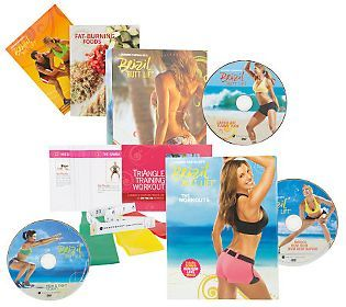 Brazil ButtLift Lower Body Workout w/ 3 DVDs & Booty Bands — QVC