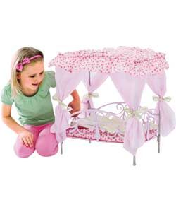 Buy Silver Cross So Pretty Canopy Dolls Bed at Argos.co.uk   Your