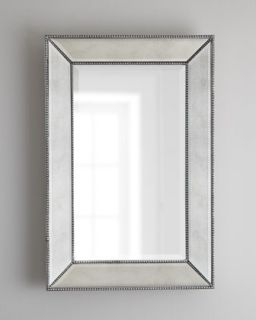 Beaded Wall Mirror   The Horchow Collection