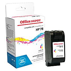Office Depot® Brand 78 (HP 78) Remanufactured High Yield Tricolor Ink