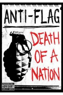 Anti Flag   The Death of a Nation DVD Cover Art