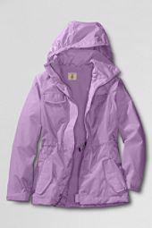 Lands End   Girls Fleece lined Navigator Rain Jacket customer