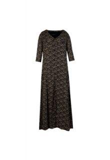Vestido Totem Longo Active Preto   Compre Agora  Dafiti