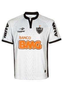 Camisa Topper Atlético Mineiro II 2012 N° 9 Branca   Compre Agora
