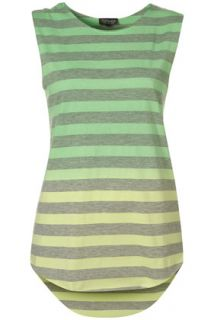 Topshop   Dip Dye Stripe Tank Top customer reviews   product reviews