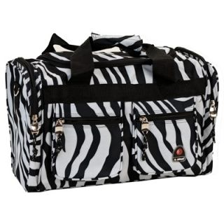 Rockland 19 Inch Carry On Tote Bag   Zebra  Meijer