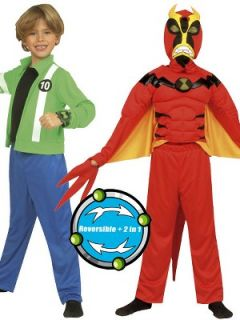 Ben 10 Deluxe Reversible Alien Force Costume   Age 3 4 years Very.co
