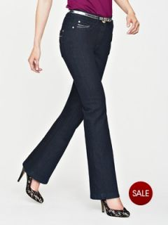 Savoir Confident Curves Belted Bling Diamante Jeans Very.co.uk