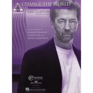 Hal Leonard Eric Clapton Change the World Guitar Tab  Musicians