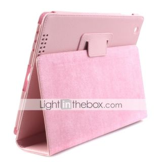 USD $ 15.19   Litchi Grain Slim PU Leather Case and Stand for Apple