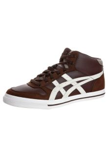 ASICS AARON MT   Sneakers hoog   seal brown/off white   Zalando.nl