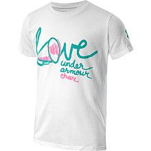 UNDER ARMOUR Girls Love Graphic Short Sleeve T Shirt