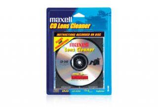 Maxell CD 340 CD/DVD/CD ROM Laser Lens Cleaner (Dry)  Laser Lens