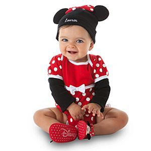 Minnie Mouse Disney Cuddly Bodysuit Collection  Costume Collections