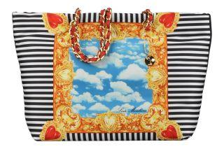 Charming bag shopper Love Moschino (Multicolore)  livraison gratuite