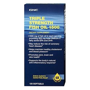 GNC Triple Strength Fish Oil 1500   GNC   GNC